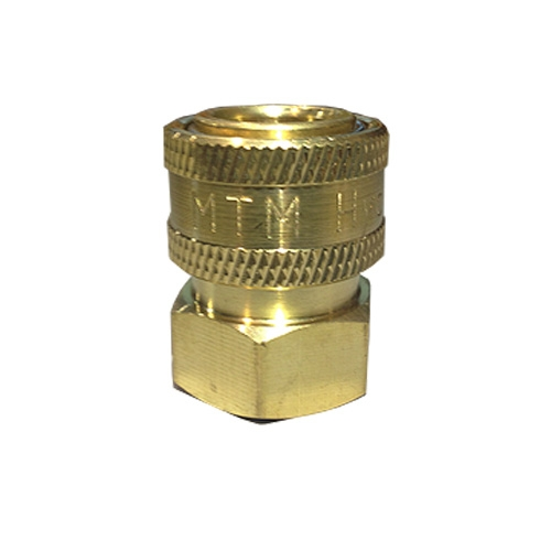 "MTM Hydro Brass Quick Connect Coupler - 3/8"" Female"