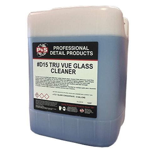 P&S Tru Vue Glass Cleaner Concentrate - 5 gal.