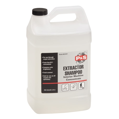 P&S Extractor Shampoo - 1 gal.