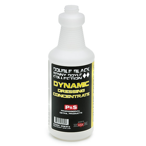 P&S Double Black Spray Bottle, 32 oz. - Dynamic Dressing