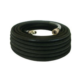 Pressure-Pro High Pressure Hose Assembly w/ Quick Connects, 4000 PSI, Black - 3/8 in. x 100 ft.