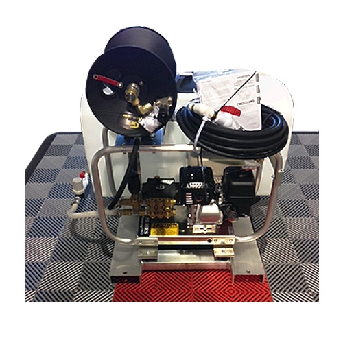Pressure-Pro Pro-ATV Series Complete Skid - 2700 PSI (Gas-Cold Water) Pressure Washer w/ Honda Engine, 50 Gal. Tank