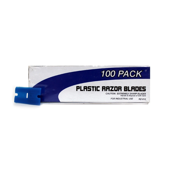 SM Arnold Plastic Razor Blades (100 pack)