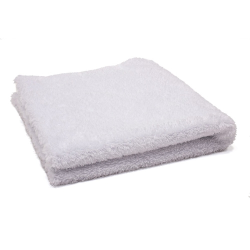 "Edgeless Duo-Plush 470 Microfiber Towel - White - 16"" x 16"""