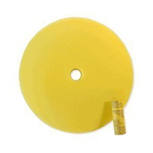 SM Arnold Speedy Yellow Foam Buffing Pad - 9 inch