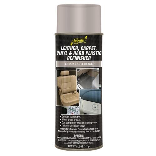 SM Arnold Leather, Vinyl & Hard Plastic Refinisher, Light Beige - 11 oz. aerosol