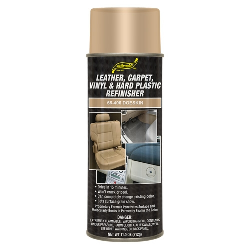 SM Arnold Leather, Vinyl & Hard Plastic Refinisher, Doeskin - 11 oz. aerosol