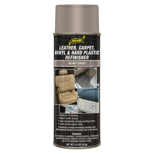 SM Arnold Leather, Vinyl & Hard Plastic Refinisher, Sand - 11 oz. aerosol