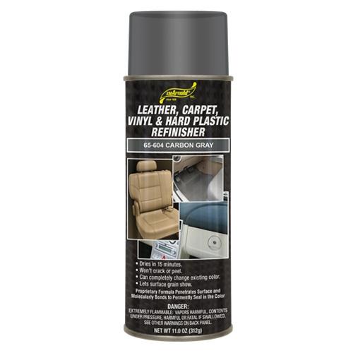 SM Arnold Leather, Vinyl & Hard Plastic Refinisher, Carbon Gray - 11 oz. aerosol