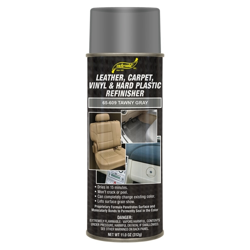 SM Arnold Leather, Vinyl & Hard Plastic Refinisher, Tawney Gray - 11 oz. aerosol