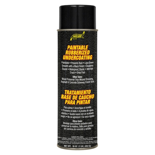 SM Arnold Paintable Rubberized Undercoating - 16 oz. aerosol