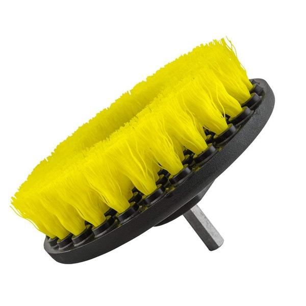 SM Arnold Medium-Duty Speedy Drill Brush, Yellow - 5 inch