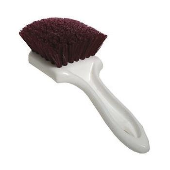 SM Arnold Upholstery & Floormat Brush - Burgundy Polypropylene