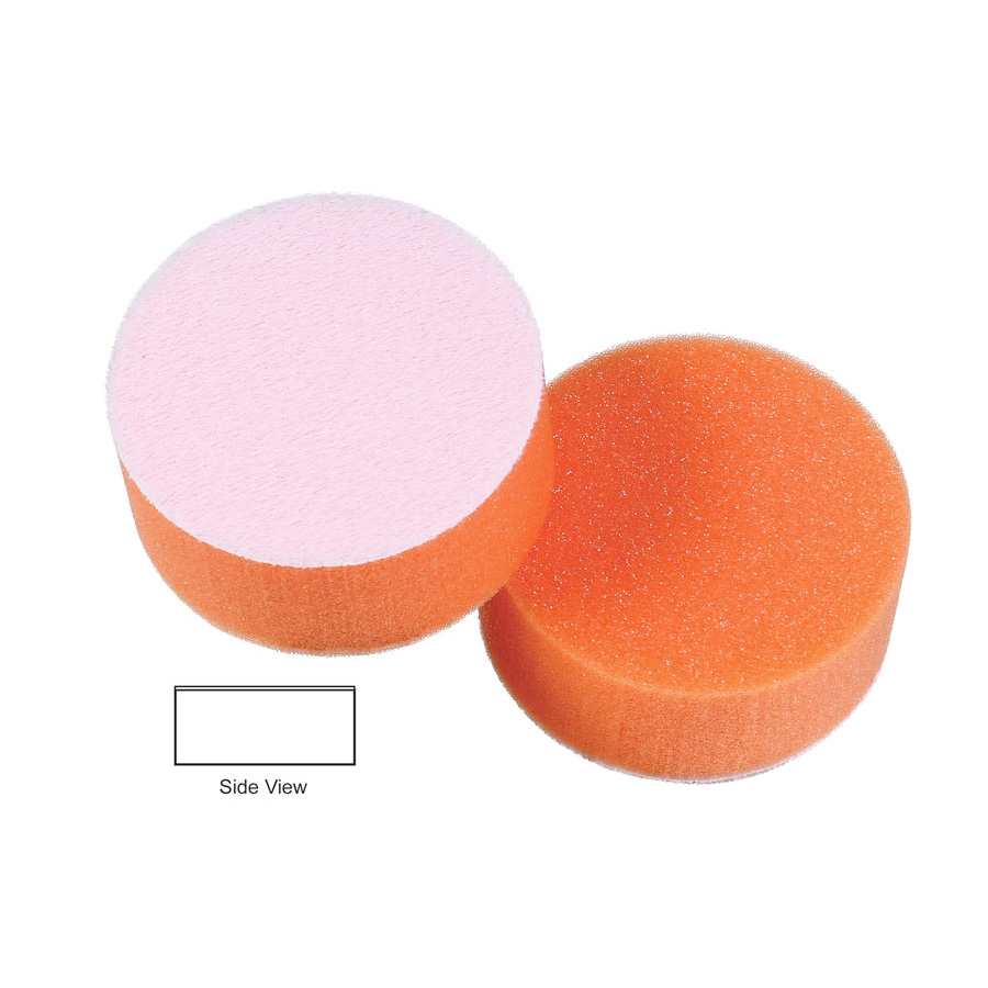 Lake Country Hydro-Tech Foam Polishing Pad, Tangerine - 3 inch x 7/8 inch
