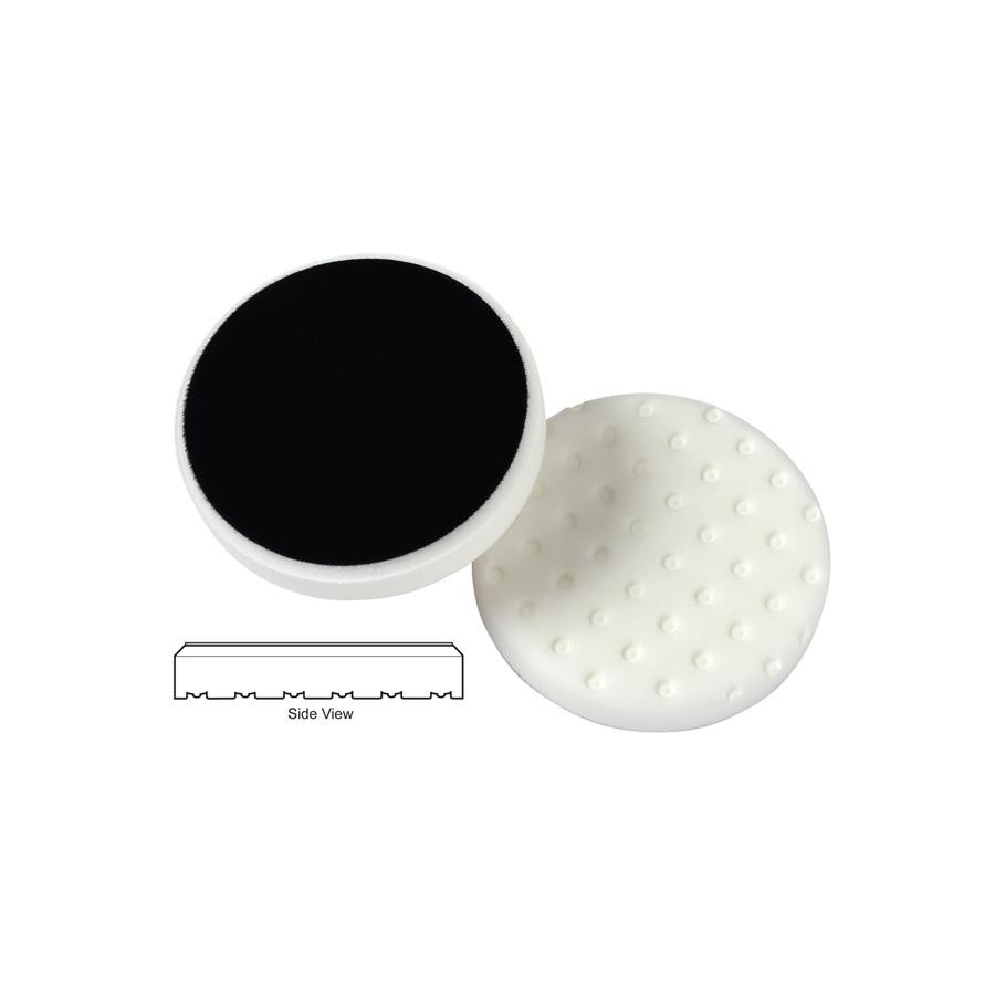 Lake Country CCS Cutback DA Foam Polishing Pad, White - 3.5 inch