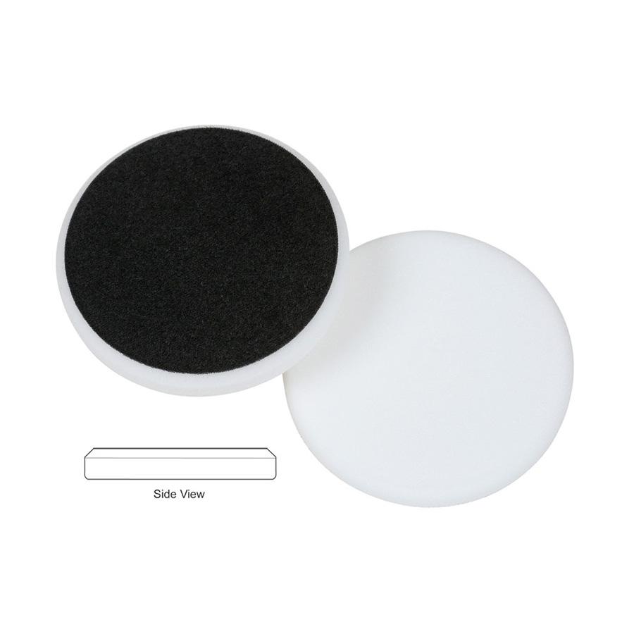 Lake Country Flat Cutback DA Foam Polishing Pad, White - 5.5 inch