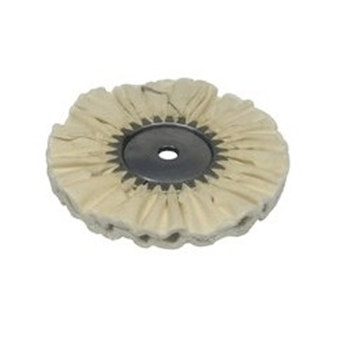 Zephyr Airway Buffing Wheel, White Airway Untreated - 8 inch