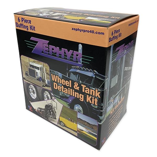 Zephyr Wheel & Tank Detailing Kit