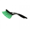 SM Arnold Ultra Soft Body Brush w/ Green Nylon Bristles - 10 inch