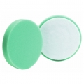 Buff and Shine Flat Face Foam Polishing Pad, Green - 4 inch (2 pack)