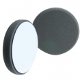 Buff and Shine Beveled Face Foam Finishing Pad, Black - 6 inch