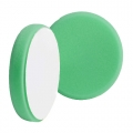 Buff and Shine Beveled Face Foam Polishing Pad, Green - 6 inch