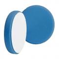 Buff and Shine Beveled Face Foam Light Polishing Pad, Blue - 6 inch