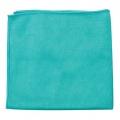 "Buff and Shine Microfiber Glass Towel, Dark Green - 16"" x 16"""