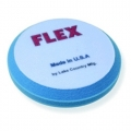 Flex Beveled Edge Foam Compounding Pad, Blue - 6.5 inch