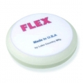 Flex Beveled Edge Foam Polishing Pad, White - 6.5 inch