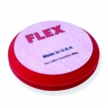 Flex Beveled Edge Foam Ultra Finishing Pad, Red - 6.5 inch