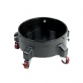 Grit Guard Bucket Dolly, Black