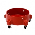 Grit Guard Bucket Dolly, Red