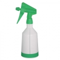 Kwazar Mercury Pro+ Spray Bottle, Dual Action Trigger, Green - 1.0 Liter