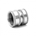 """MTM Stainless Steel Garden Hose Quick Connect Coupler - 3/4"""" Female"""