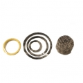 MTM Stainless Steel Filter and O-Ring Replacement Kit for Original Foam Cannons