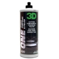3D One, Hybrid Cutting Compound and Finishing Polish - 32 oz.