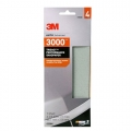 3M Trizact Performance Sandpaper Sheet, 3000 grit, 03064
