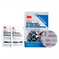 3M Quick Headlight Clear Coat Kit (contains 2x wipes, 1x 3000 grit sanding disc)