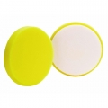 Buff and Shine Yellow Foam Cutting Pad - 4 inch (2 pack)
