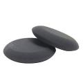 Buff and Shine Premium Wax & Sealant Applicator with Tapered Edge, Black - 4 inch