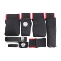 Detailer's Helper HD Tool Belt, Black/Red