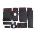 Detailer's Helper HD Tool Belt, Black/Red