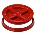 Grit Guard Gamma Seal Lid, Red