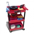 Grit Guard Universal Detail Cart with Pad Washer