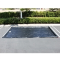 "Husky Water Containment Mat, 10' x 20' x 3"" Berm, 22 oz. PVC - Black"