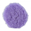 Lake Country Purple Foamed Wool Buffing/Polishing Pad - 5 inch
