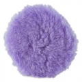 Lake Country Purple Foamed Wool Buffing/Polishing Pad - 6.5 inch