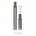 """Lake Country 2-Piece Rotary Extension Rod Kit - 3"""" + 6"""""""