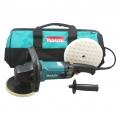 Makita 9237C Rotary Polisher Kit (includes bag and 1 Foam Polishing Pad)